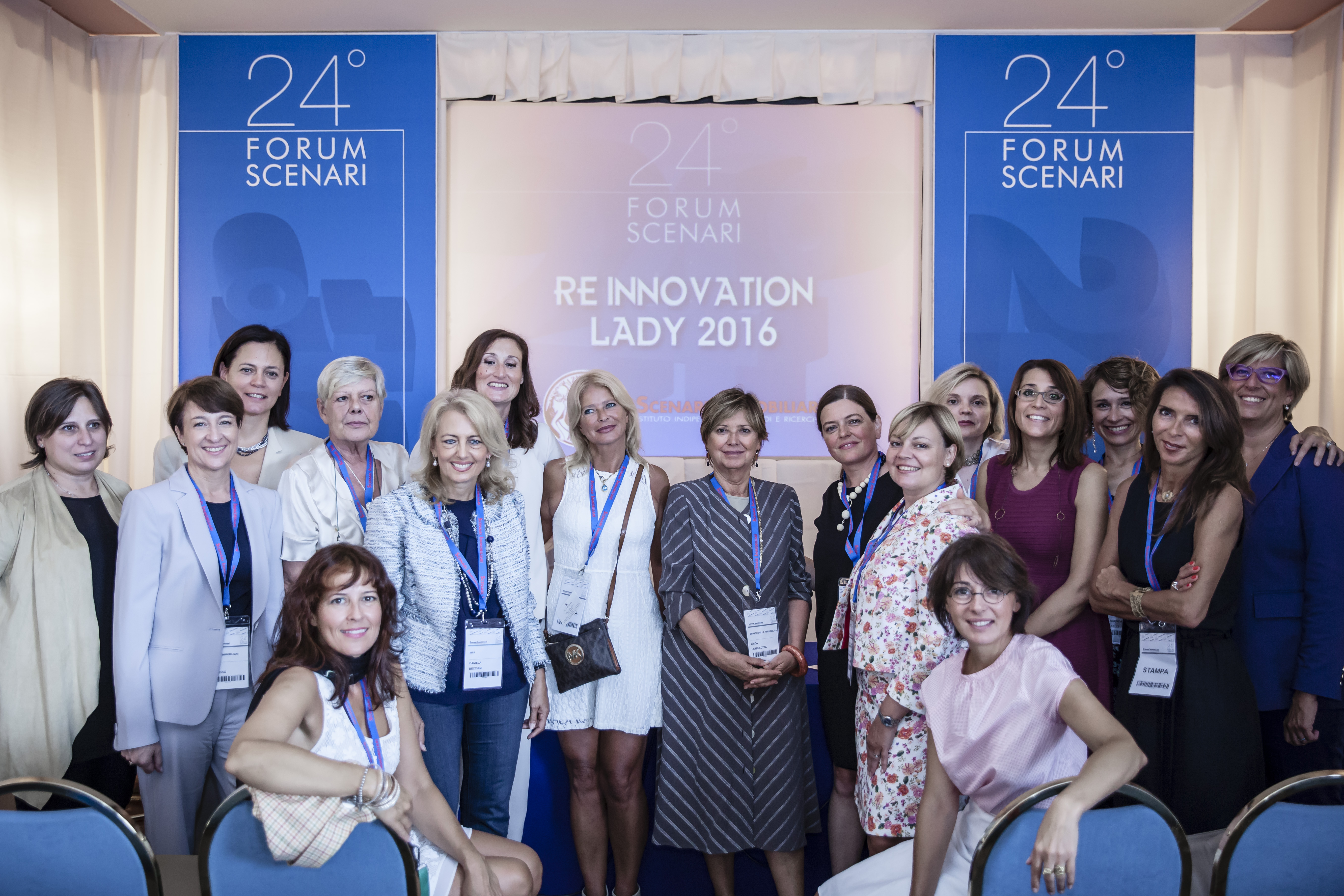 Premio RE Innovation Lady 2016