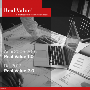 Presentazione REAL VALUE